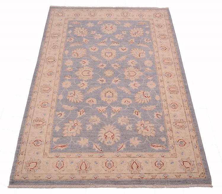 Afghan blue Zeigler rug