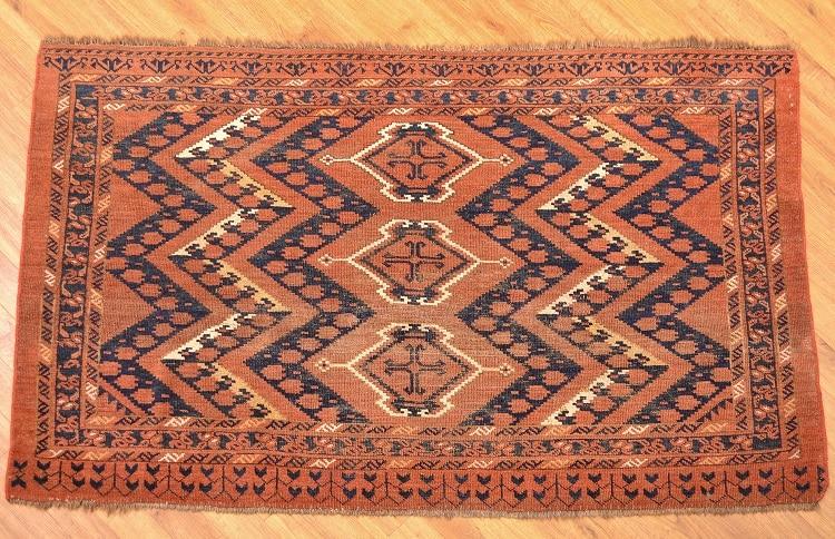 Antique Ersari Chuval