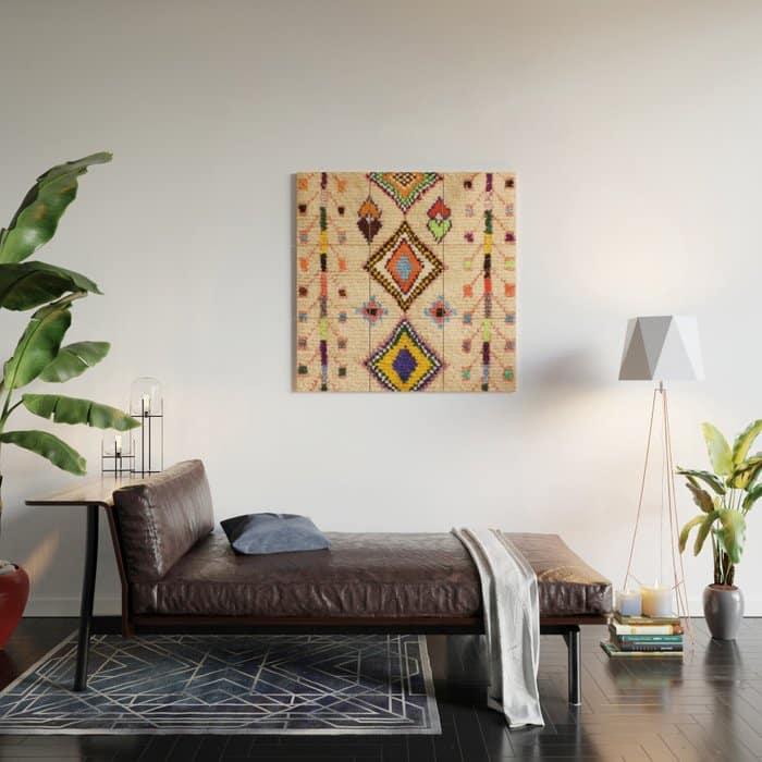 Moroccan Rug Wall Decor