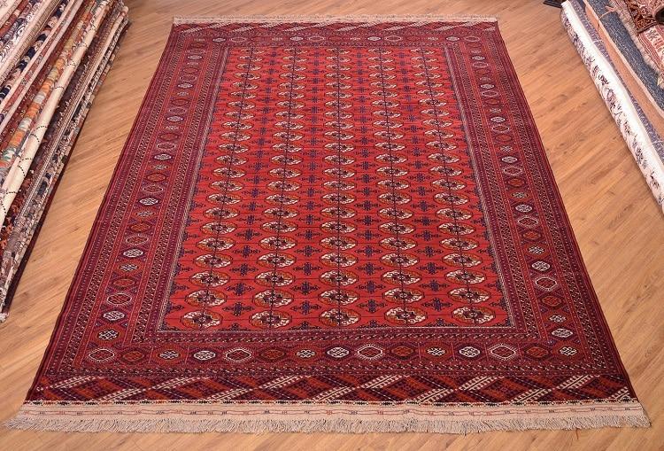 Turkoman Red Bokhara Carpet
