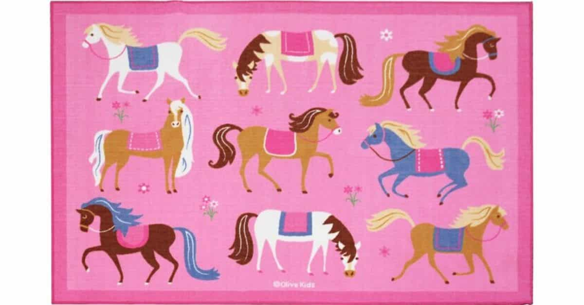 Best Horse Themed Area Rugs for Equestrian Lovers