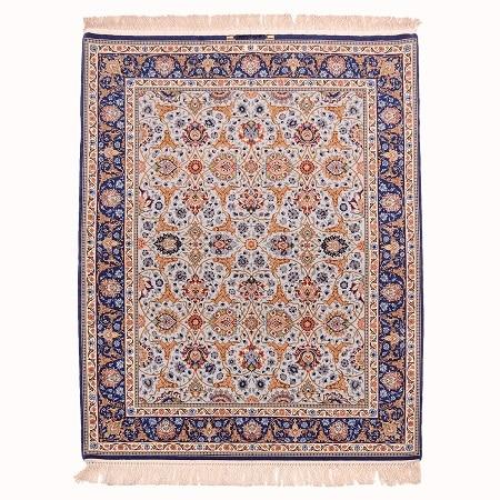 Fine Blue Isfahan Rug