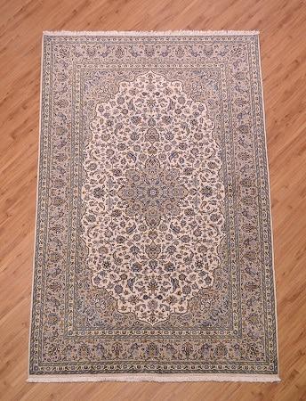Persian Fine Kurk-Kashan Carpet