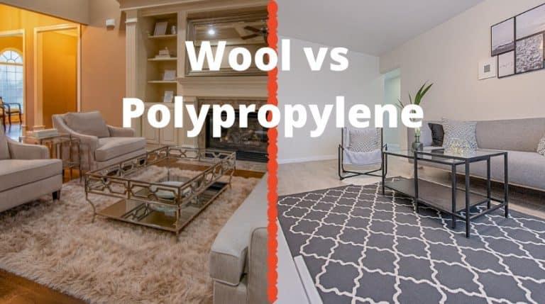 Wool Rugs vs Polypropylene Rugs Comparison