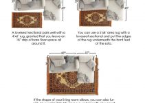 What Size Area Rug Under Sectional Sofa & Placement Guide