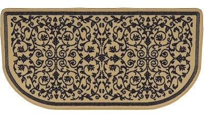 Hearth Tan Black Area Rug