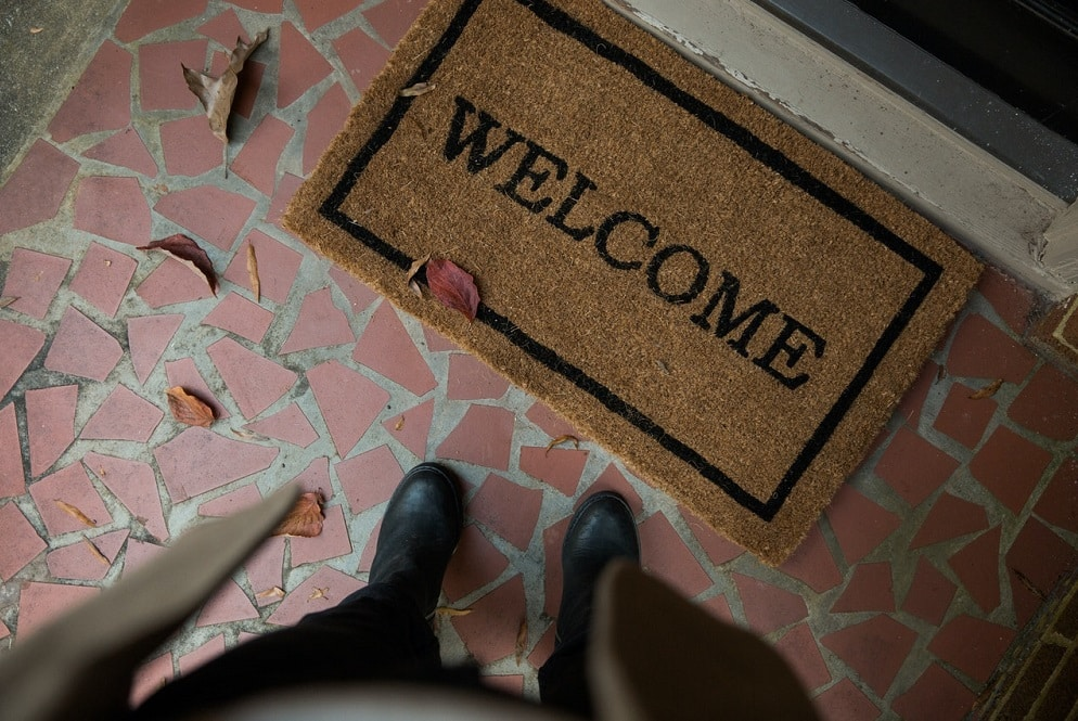 Best Fall (Autumn) Doormat & Welcome Mat Ideas for the Home
