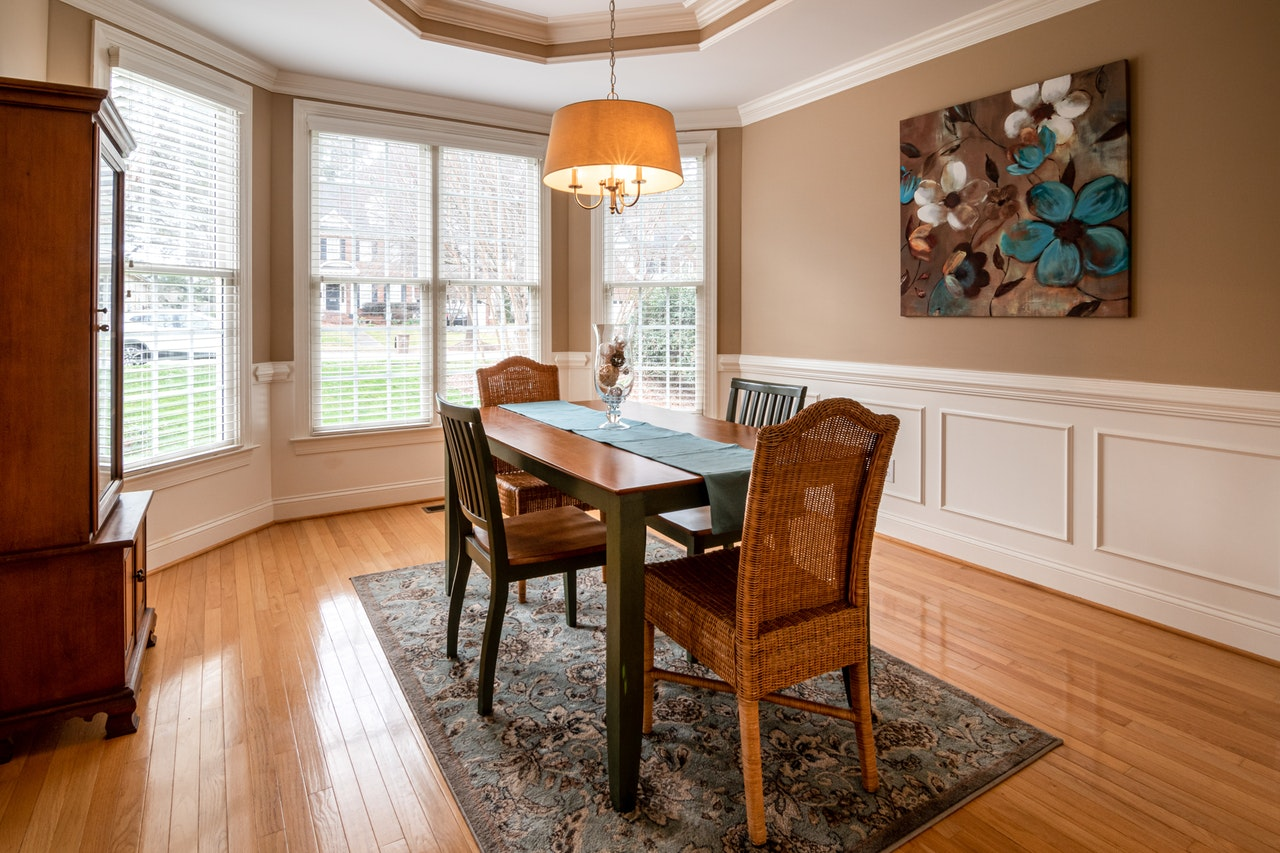 Rug Sizes for Dining Tables