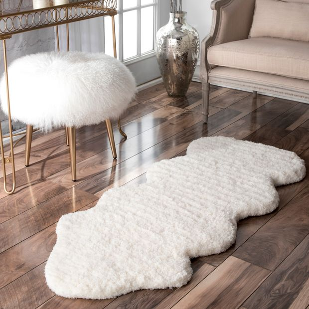 Natural One and a Half Piece Area RugNatural One and a Half Piece Area Rug