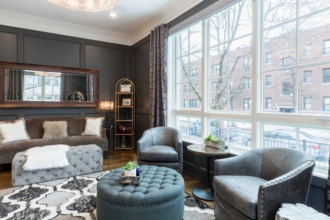 Throw Rugs for Living Room Design Idea
