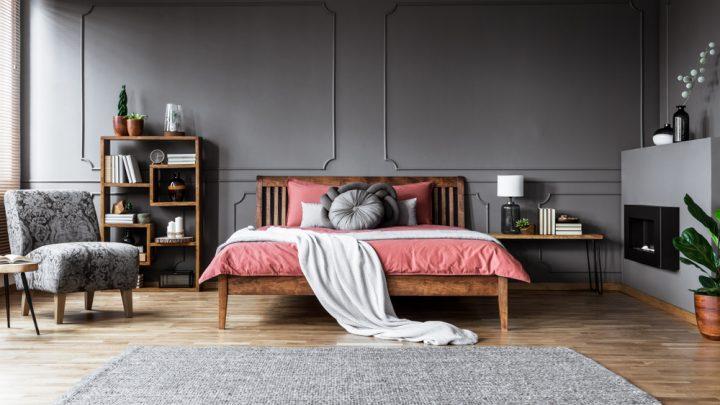Bedroom modern area rug