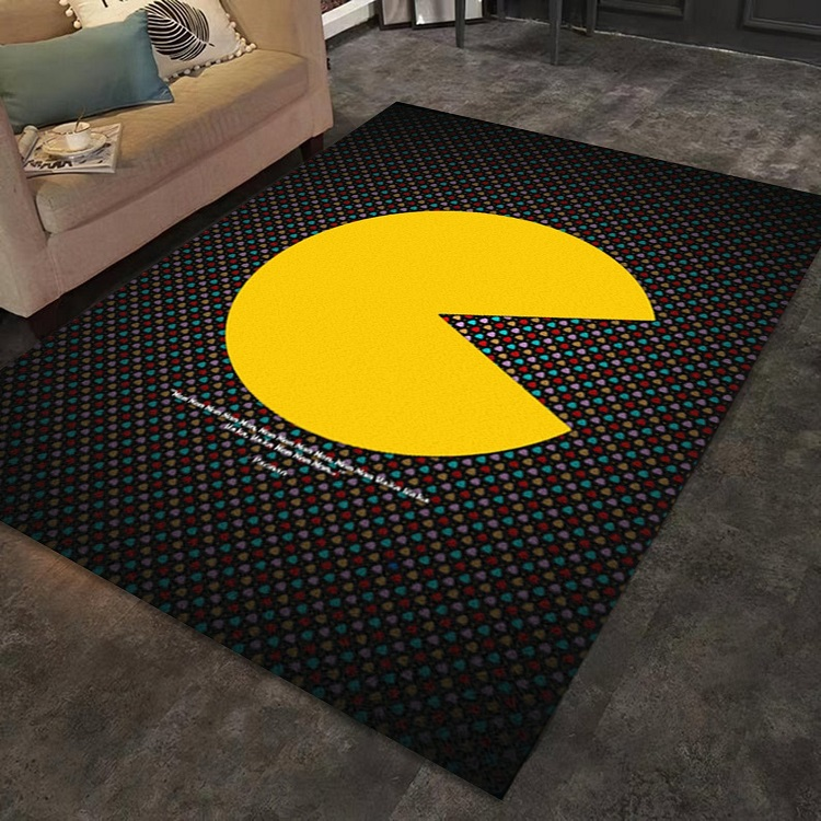 PacMan Yellow Legend Gaming Rug