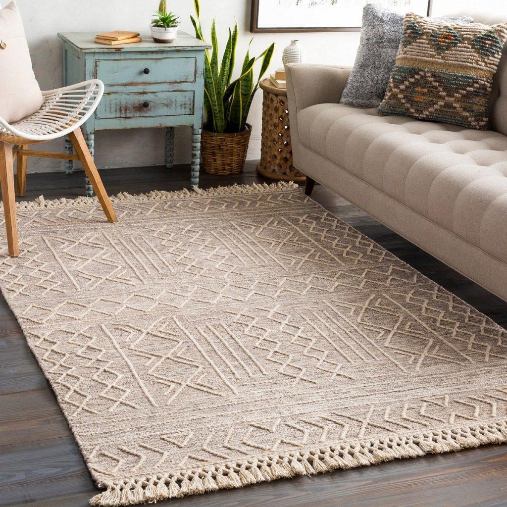 handmade dhurrie rug