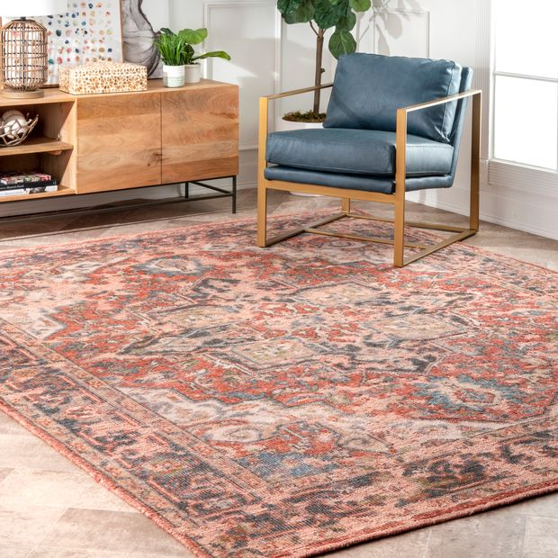 Multi Hand Knotted Floral Medallion Area Rug