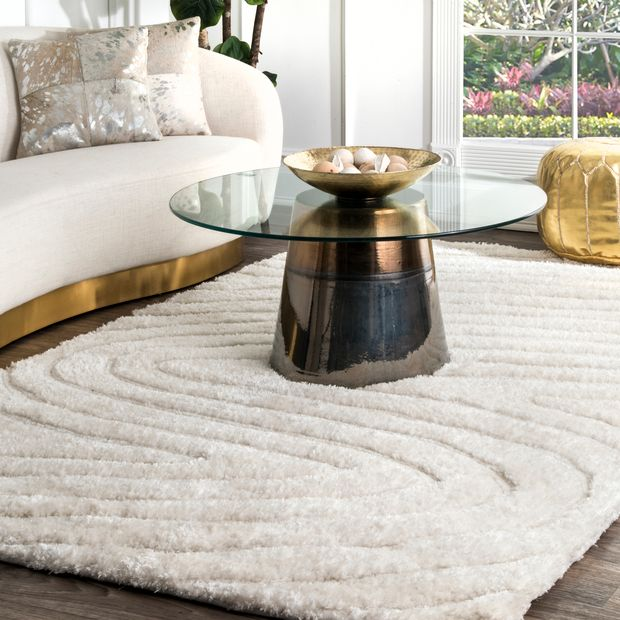 Off White Tranquility Area Rug